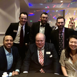 Brooks Pierce attorneys Patrick Cross, David Green, Stephen Hartzell, James Bobbitt, Mark Prak and Katie Wong