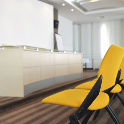 Conf. Room with Yellow Chairs