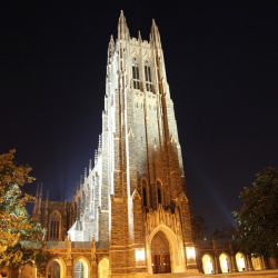 Duke Chapel at Night