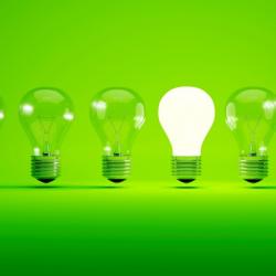 Lightbulb, idea concept