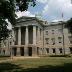 Photograph of NC capitol