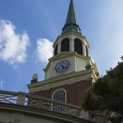 Wait Chapel Steeple at Wake Forest University