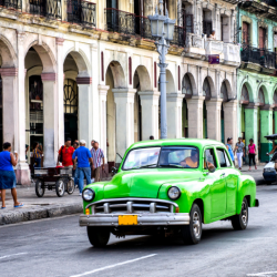 Antique Car in Havanna