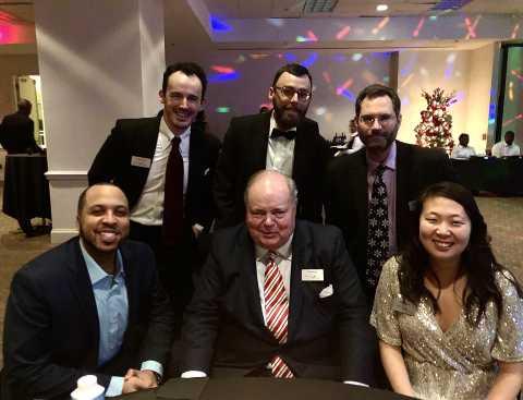 Brooks Pierce attorneys Patrick Cross, David Green, Stephen Hartzell, James Bobbitt, Mark Prak and Katie Wong
