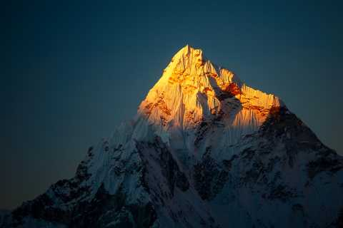 Mountain, peak, zenith
