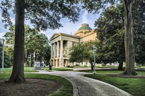 Capital Building in Raleigh