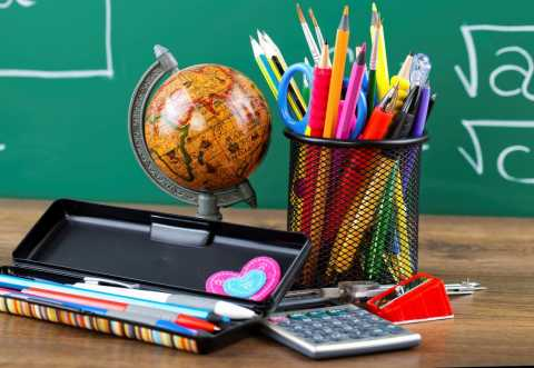 Education Image with Globe