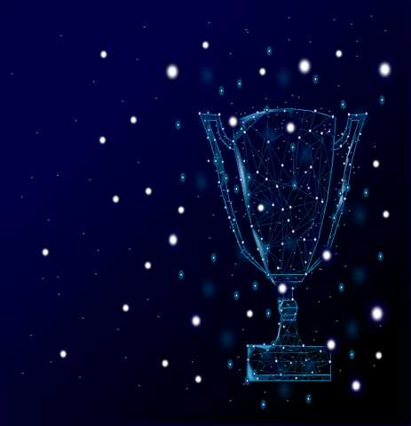 Trophy, abstract